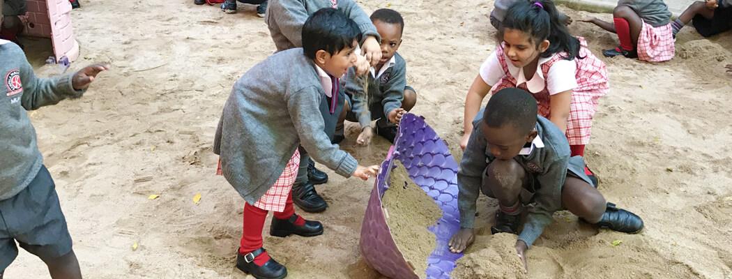 Kampala Parents School - Children play