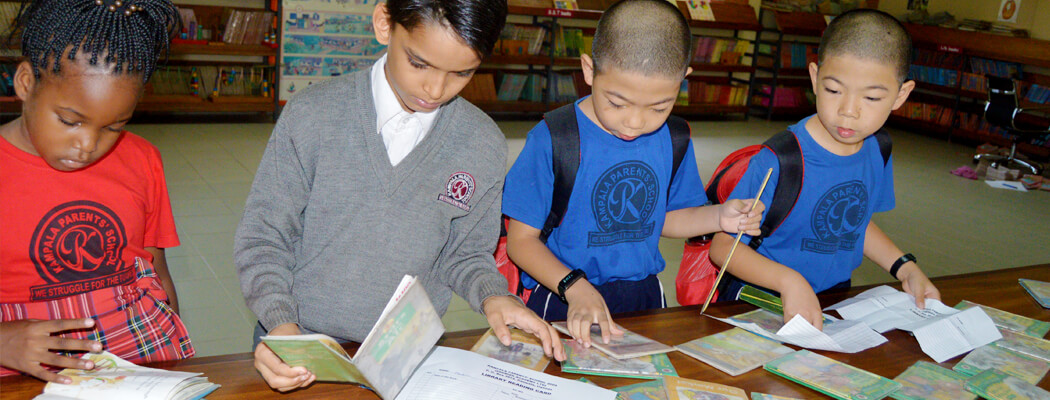 Kampala Parents School - Library